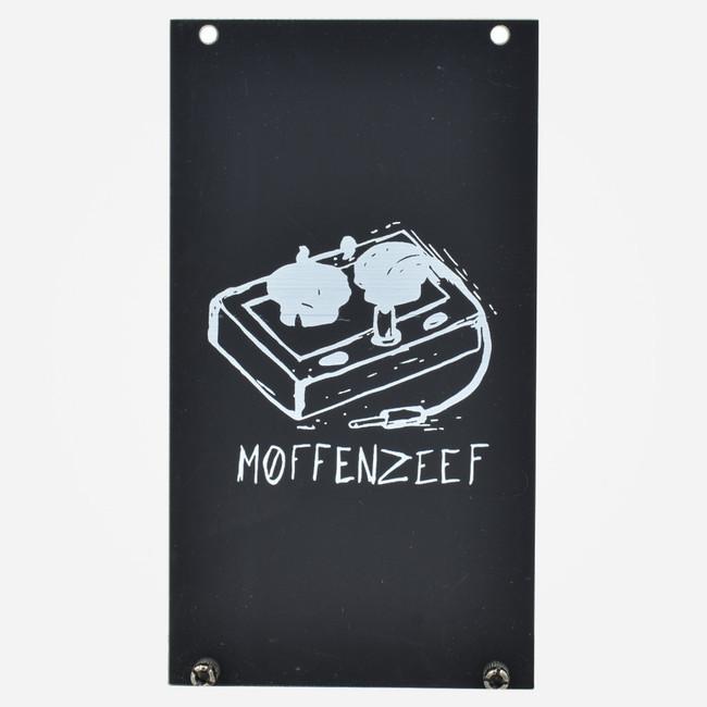 Moffenzeef Modular 14hp Black Eurorack Blank Panel