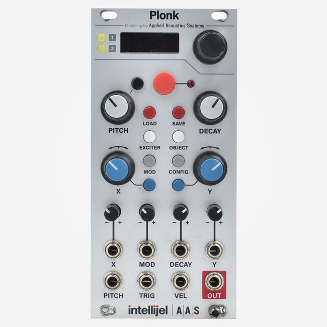 Used Intellijel Plonk Eurorack Physical Modelling Resonator Synthesizer Module