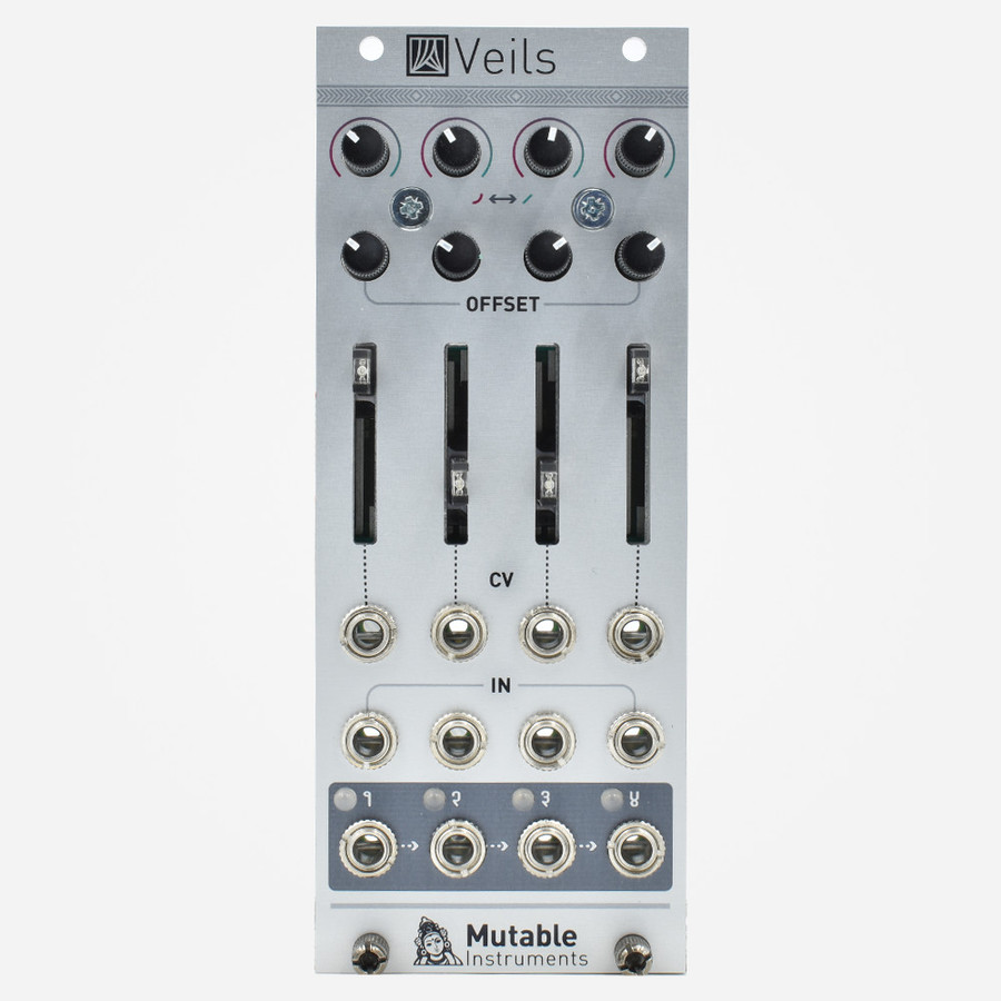 Mutable Instruments VEILS 2020 Quad Eurorack VCA with Sliders