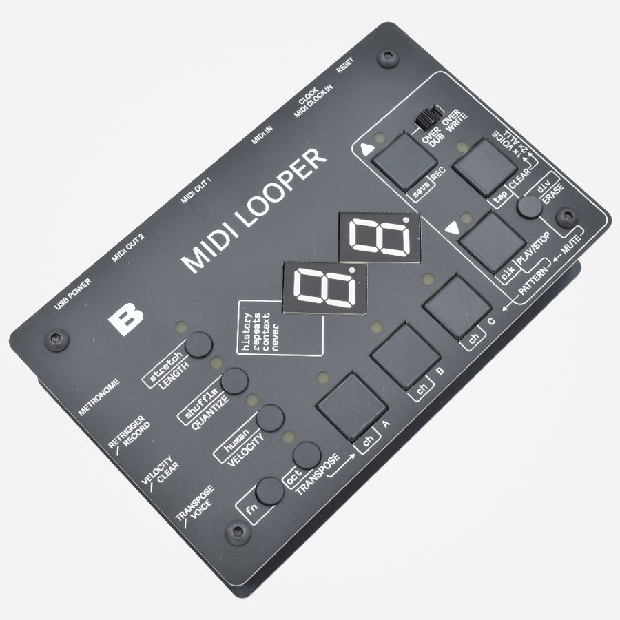 Bastl Instruments MIDI LOOPER Side