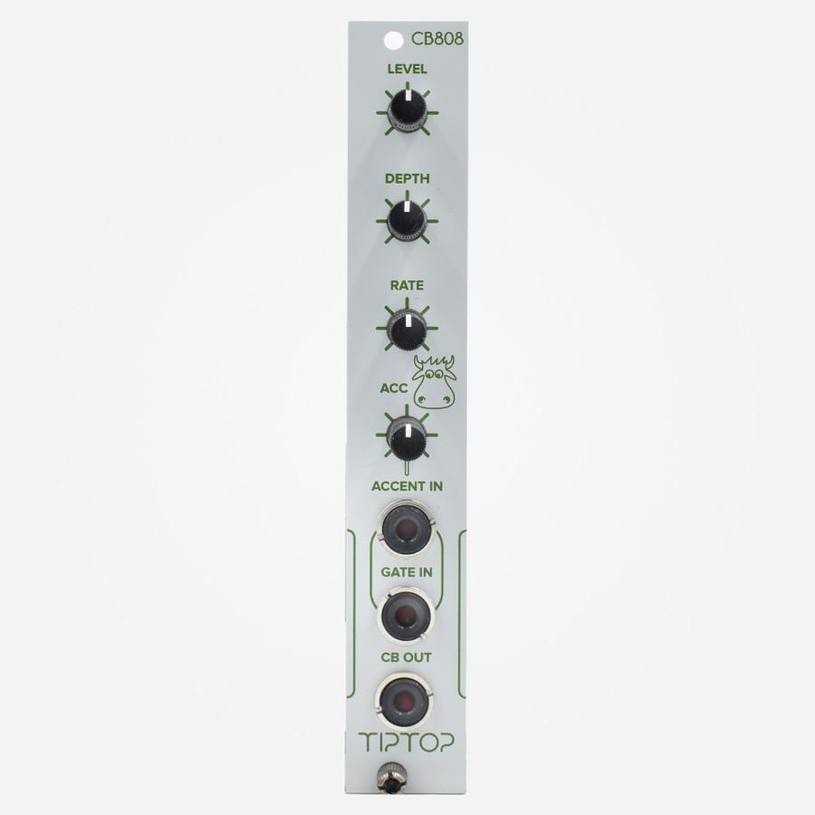 Tip-Top Audio CB808 (White) Eurorack TR-808 Cowbell Clone Percussion Module