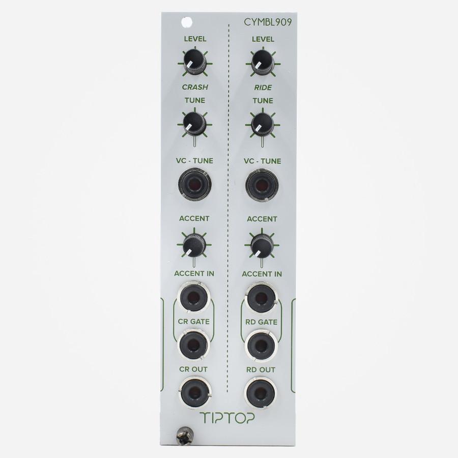 Tip Top Audio CYMBL909 CR909 Eurorack Tr-909 Ride and Crash Percussion Module