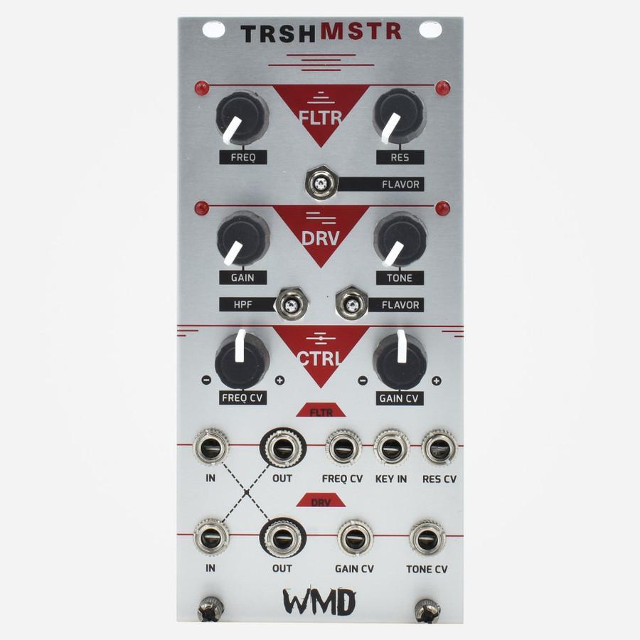 WMD TRSHMSTR Trashmaster Eurorack Filter and Distortion Module ACID Dod Tubescreamer