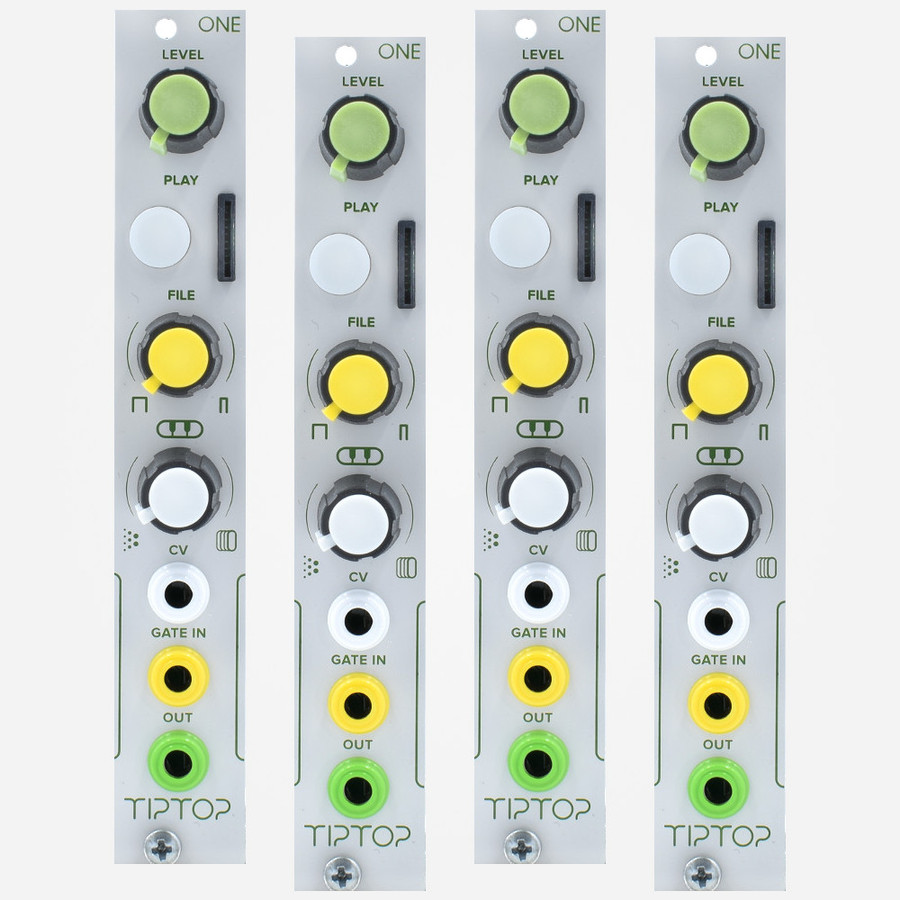 Tip Top Audio ONE Sampler player Four Pack Discount