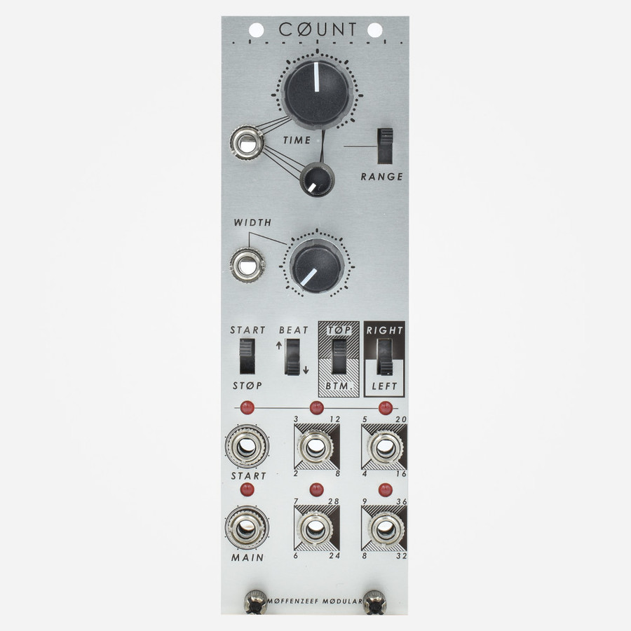 Moffenzeef COUNT Eurorack Master Clock and Transport Module