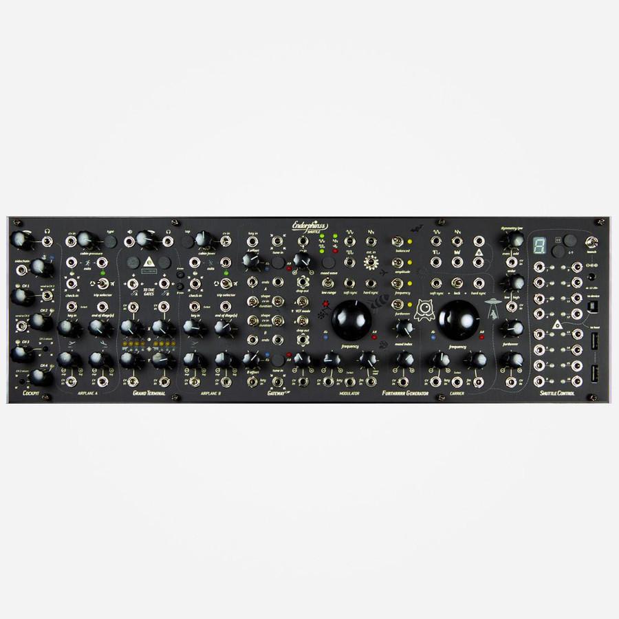Endorphin.es SHUTTLE SYSTEM (Black) Eurorack Modular West Coast Synthesizer Front
