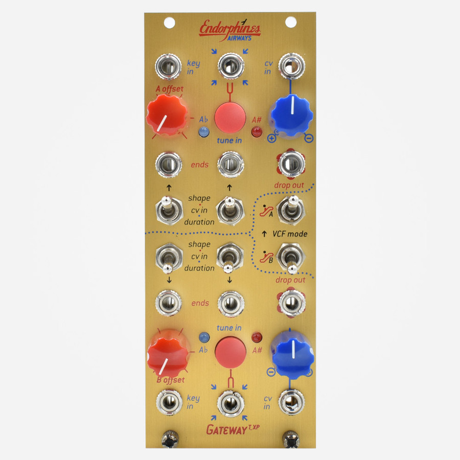 Endorphin.es GATEWAY Eurorack Grand Terminal Expander and autotuner module