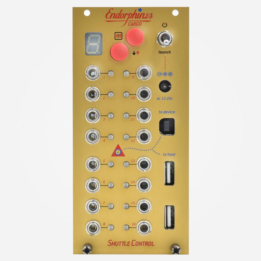 Endorphin.es SHUTTLE CONTROL 16 Channel Eurorack MIDI to CV Module