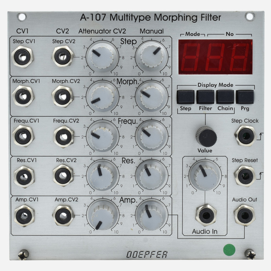 Used Doepfer A-107 Multitype Morphing Filter Eurorack VCF Module
