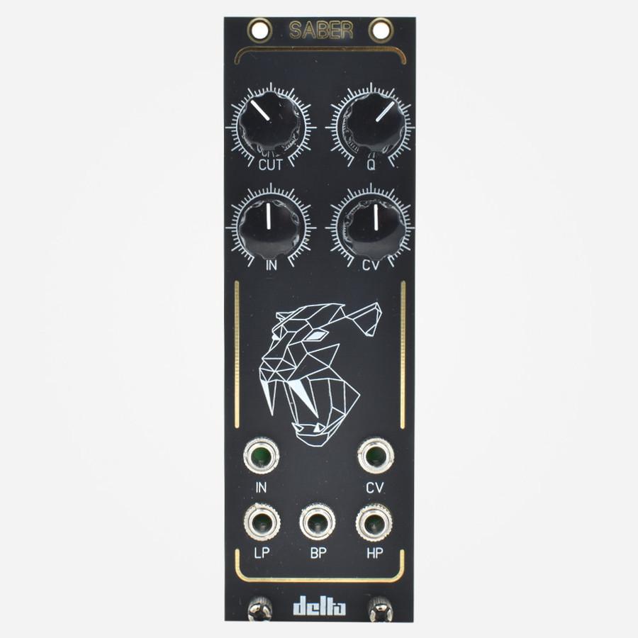 Delta Synth Labes SABER Eurorack SEM Styled Filter Module