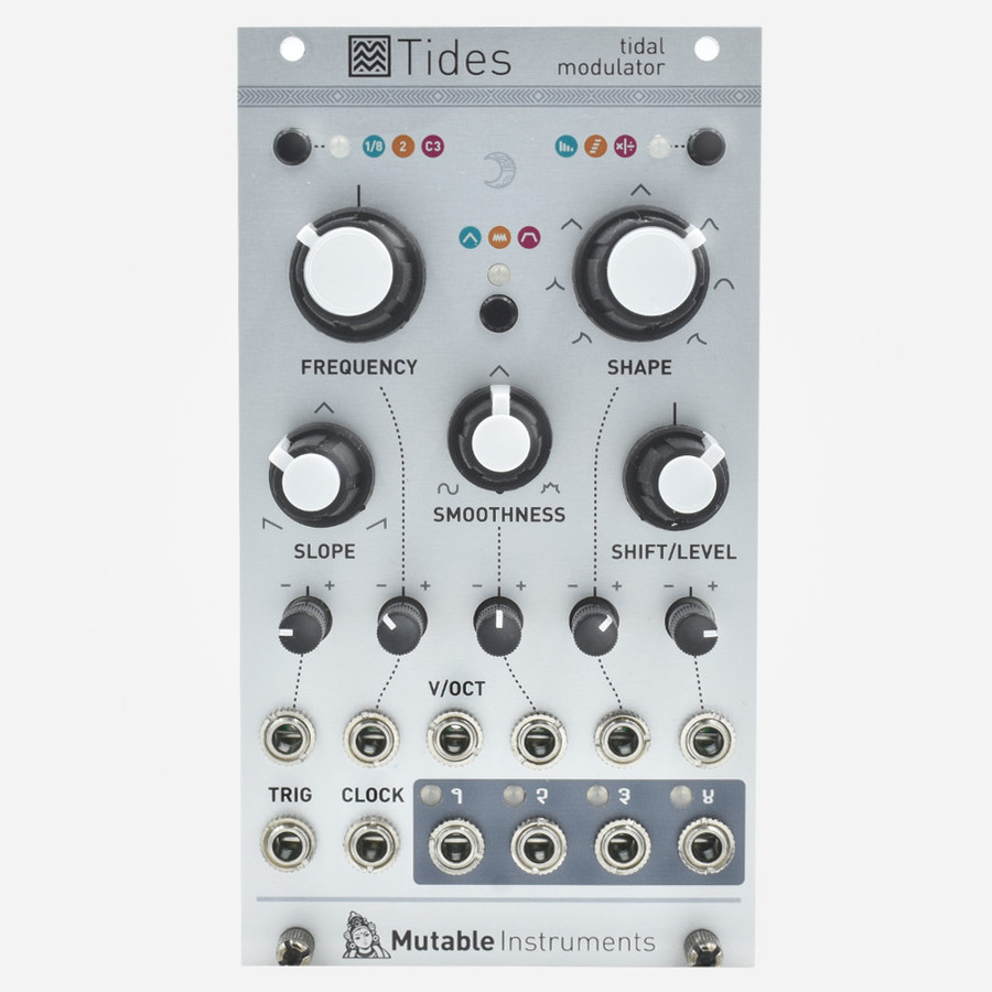 Mutable Instruments TIDES 2018 V2 Eurorack Oscillator, LFO, and Envelope Module