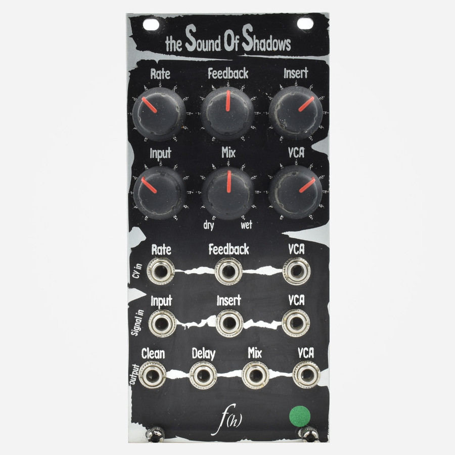 Used Flight of Harmony SOUND OF SHADOWS Eurorack Delay Module
