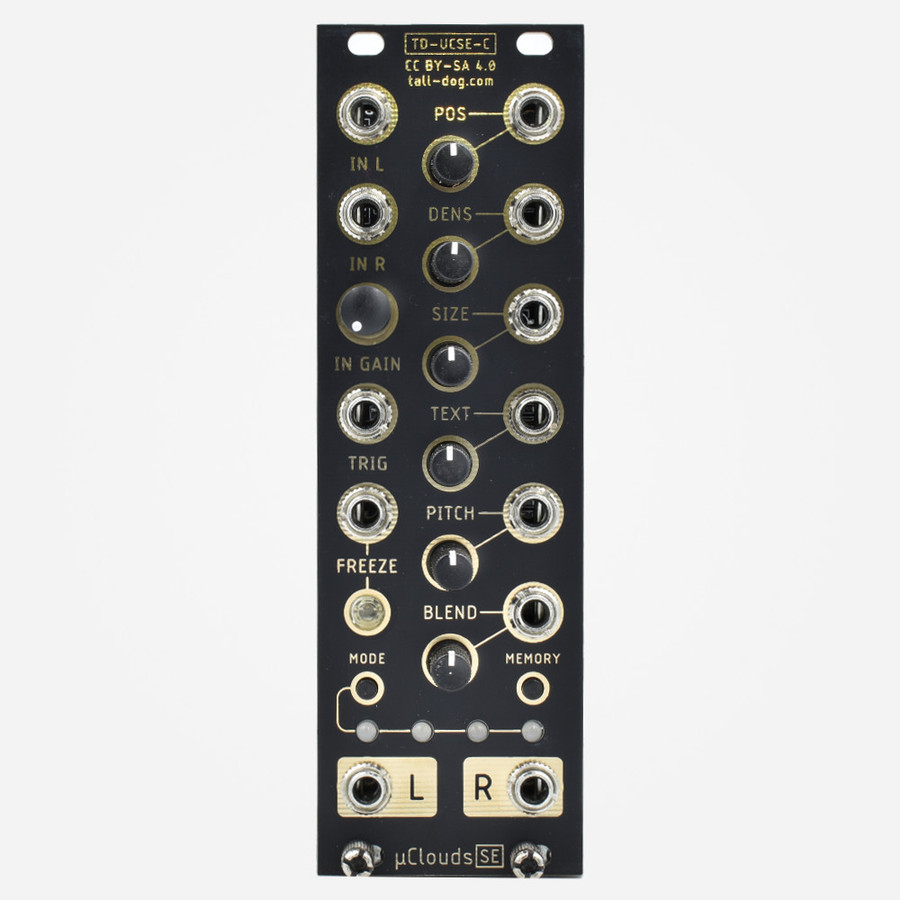 Tall Dog Electronics uClouds Micro Mutable Clouds Eurorack Granular Effect Module