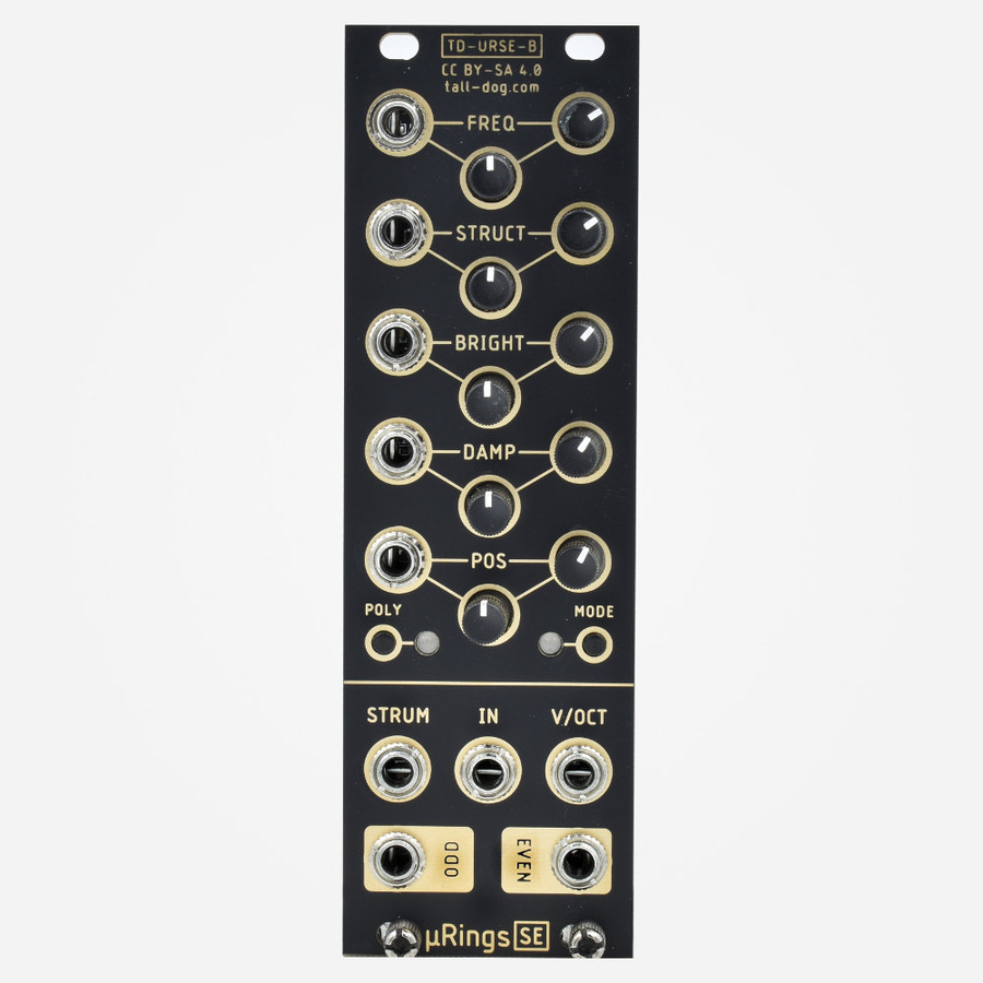 Tall Dog Electronics uRINGS Micro Mutable Instruments Rings Physical Modelling Resonator Module