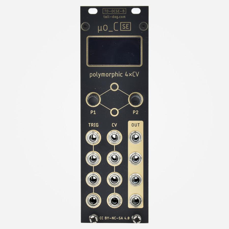 Tall Dog Electronics uO_C (Black) Micro Ornament and Crime Eurorack CV Generator Module