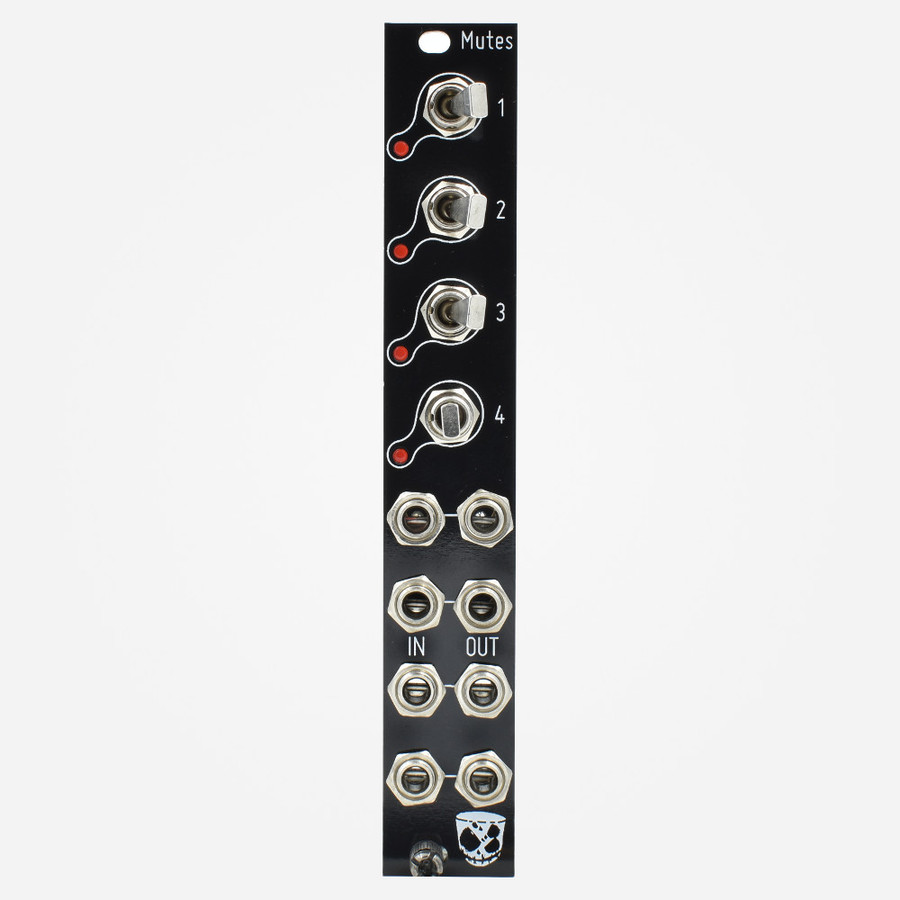 DivKid Befaco MUTES Vactrol Clickless Eurorack MUTE Module