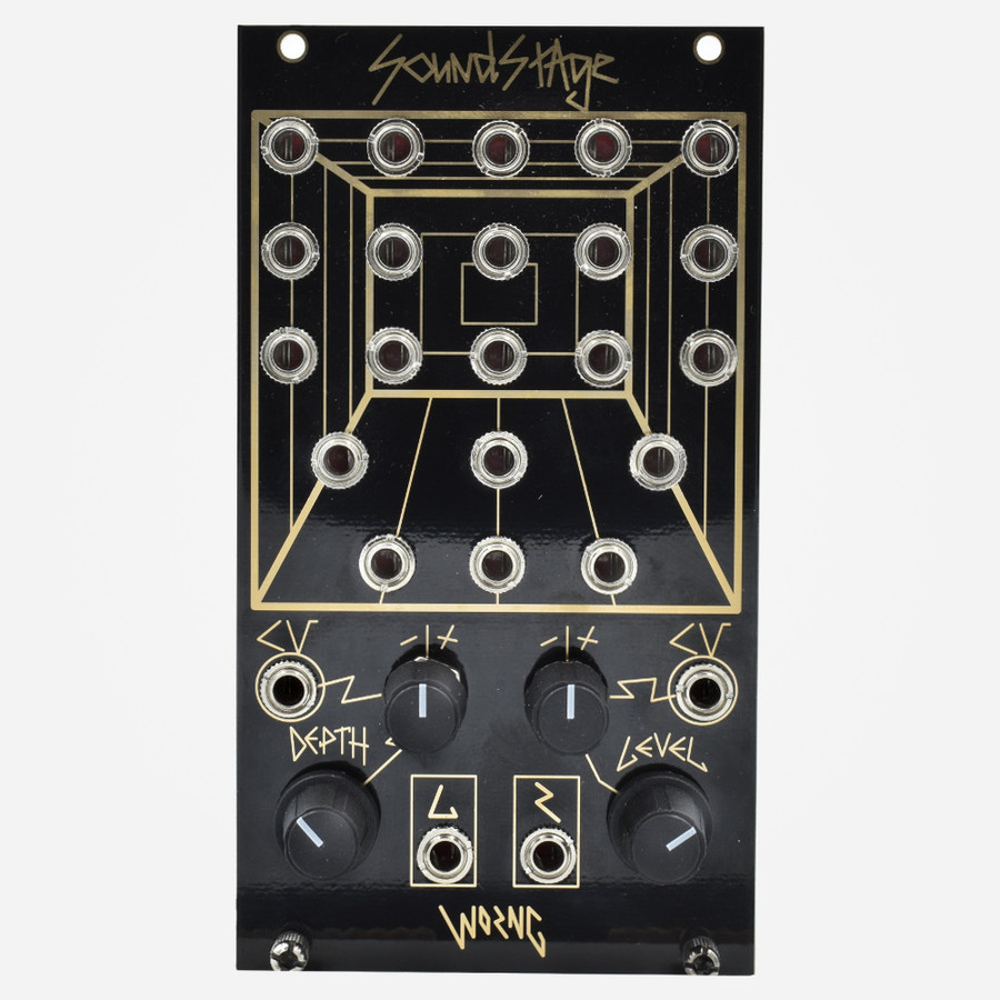 Worng Electronics SOUNDSTAGE Eurorack Experimental Mixer Module