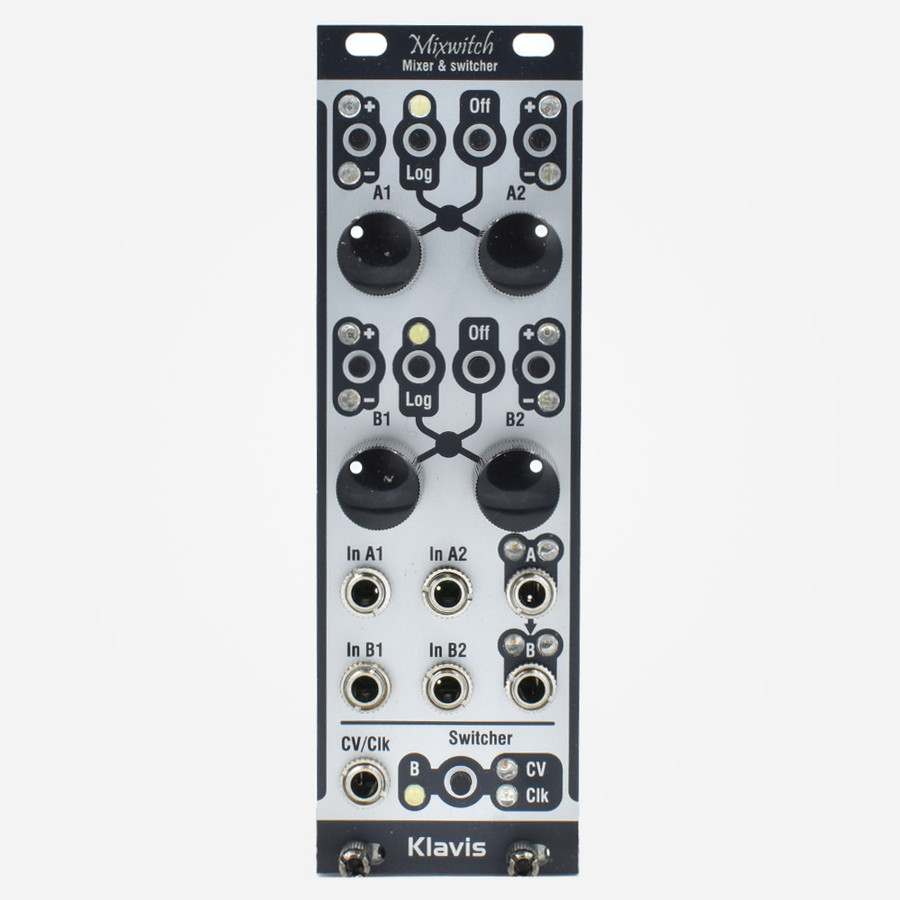 Klavis MIXWITCH Eurorack Bipolar Mixer Attenuator offset and switch Module