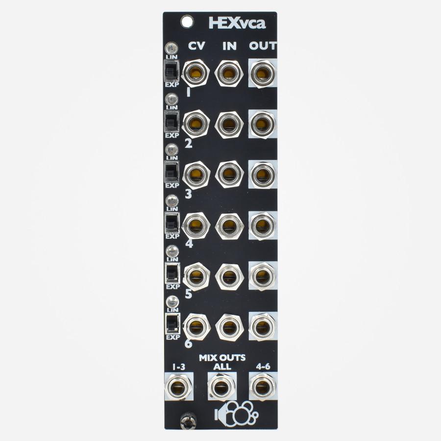 Bubblesound HEXVCA Eurorack 6 Channel VCA Module