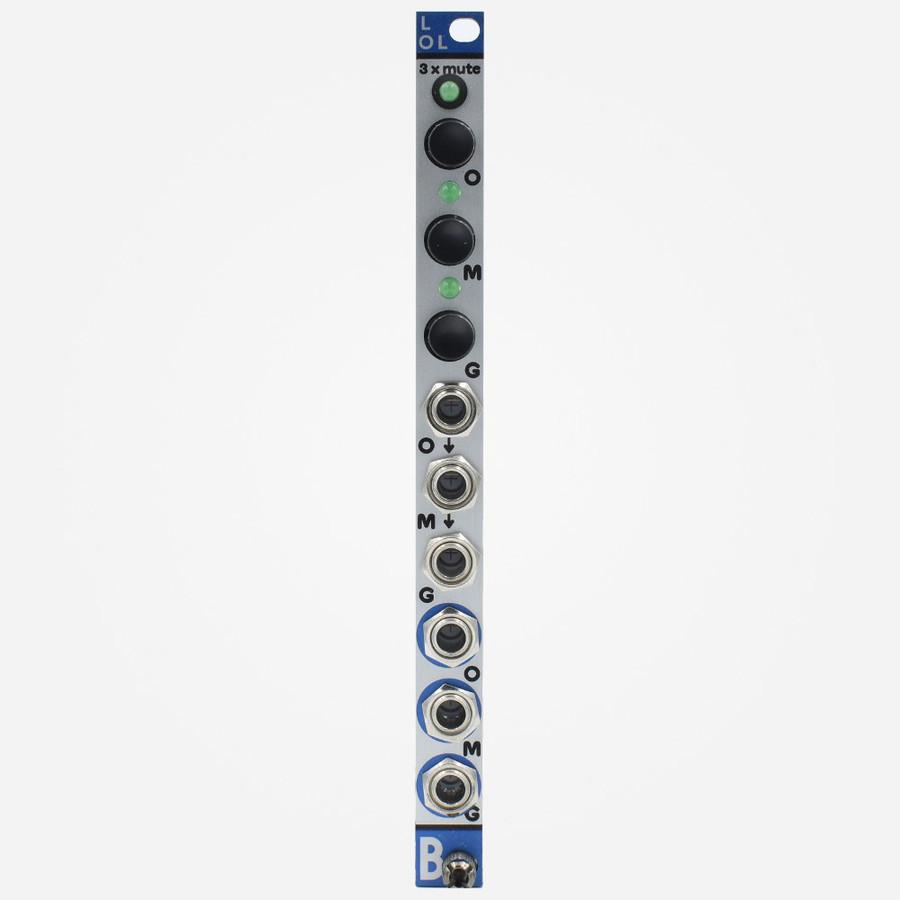 Bastl Instruments LOL Eurorack compact 3 Channel Mute Module