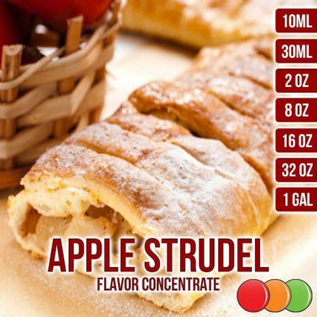 One On One Flavours APPLE STRUDEL OOO