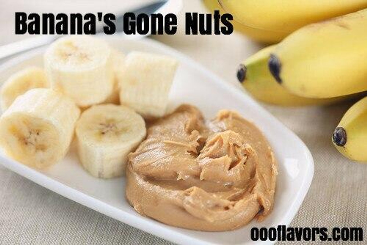 One On One Flavours BANANA GONE NUTS OOO