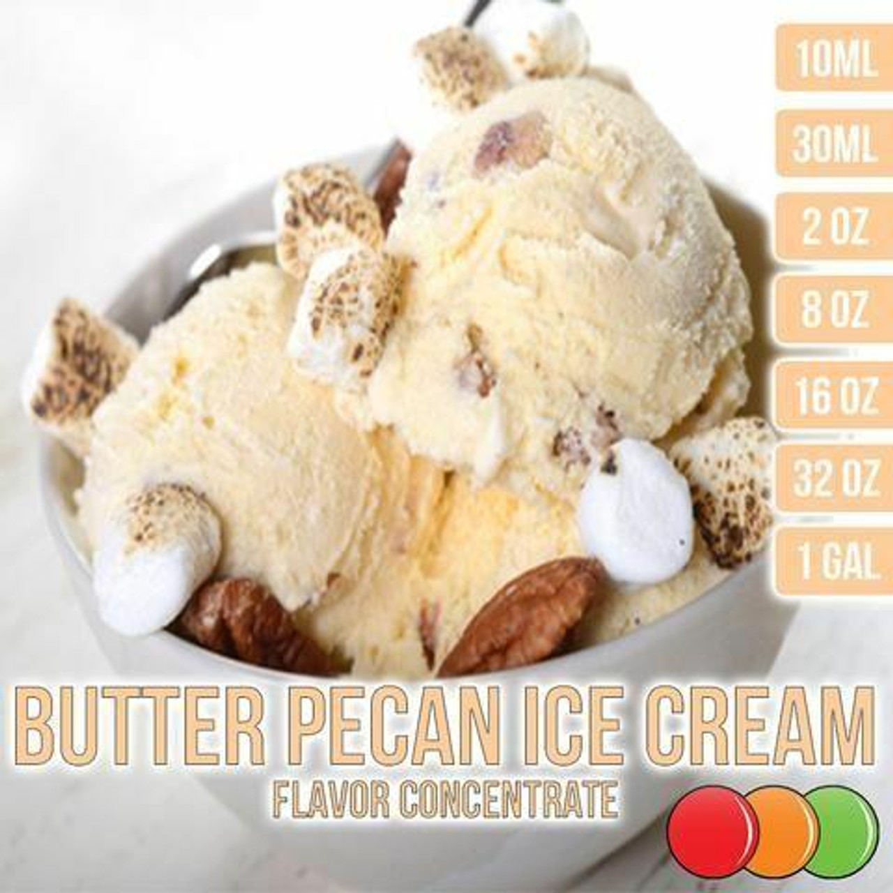 One On One Flavours BUTTER PECAN ICE CREAM OOO