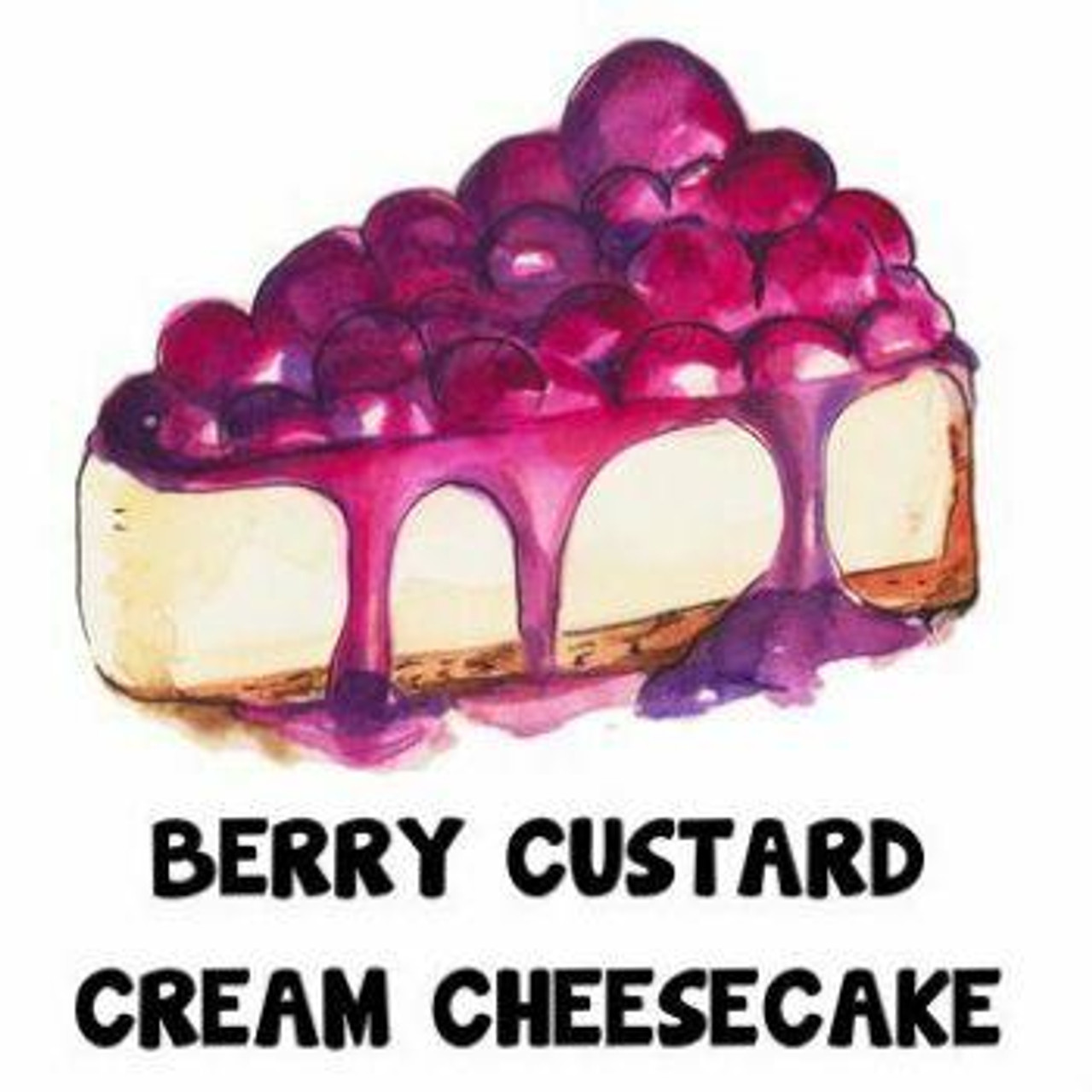 One Shot Blended Flavours BERRY CUSTARD CREAM CHEESECAKE ONE SHOT