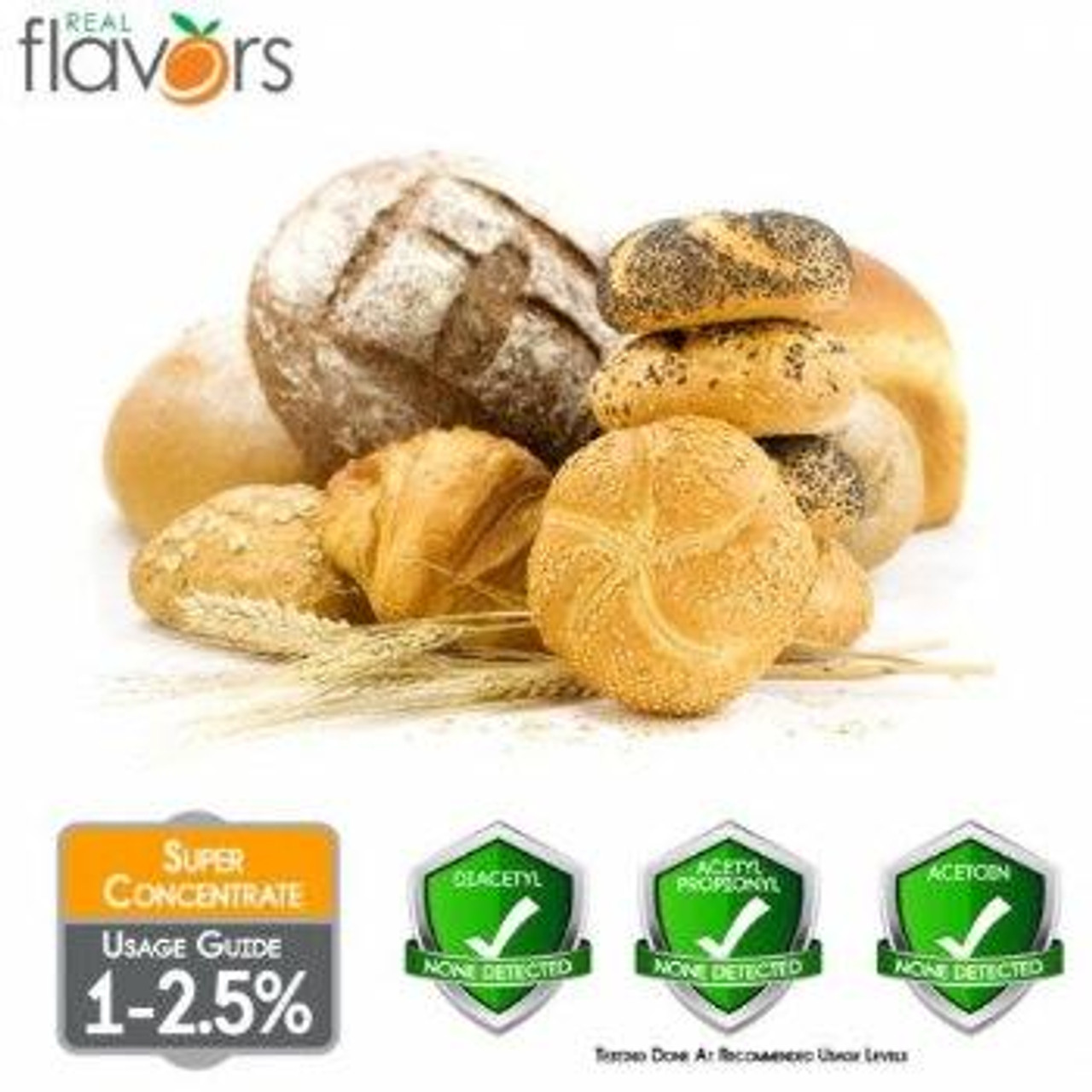 Real Flavors Flavours BAKED BREAD RF