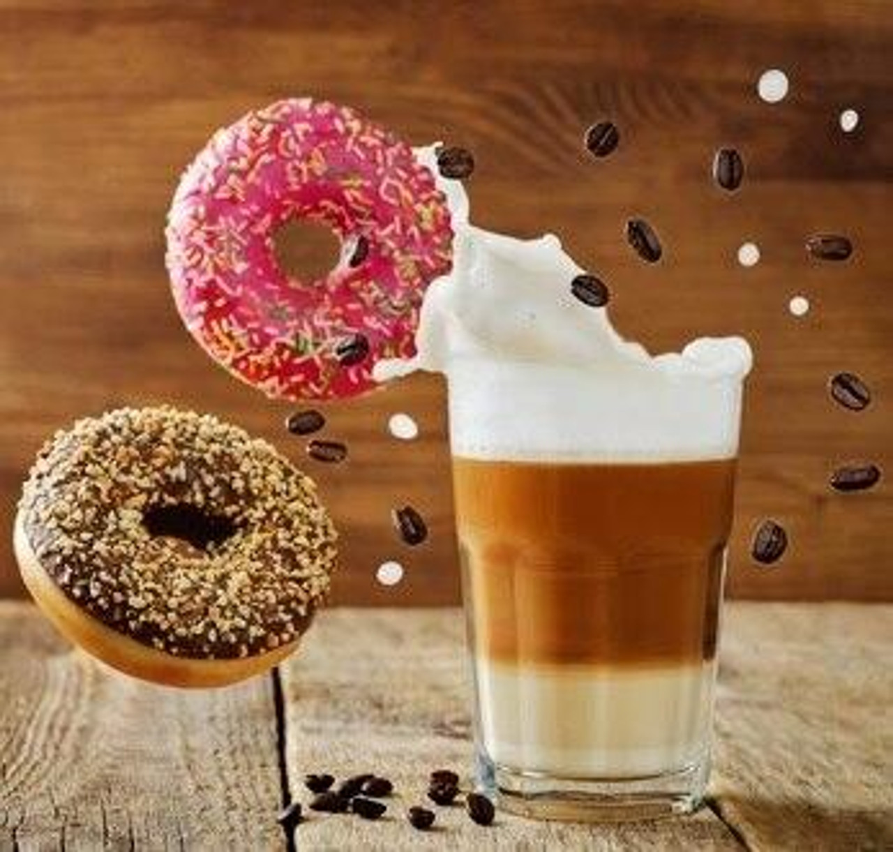Kandi-Hed Flavours COFFEE DONUT KH