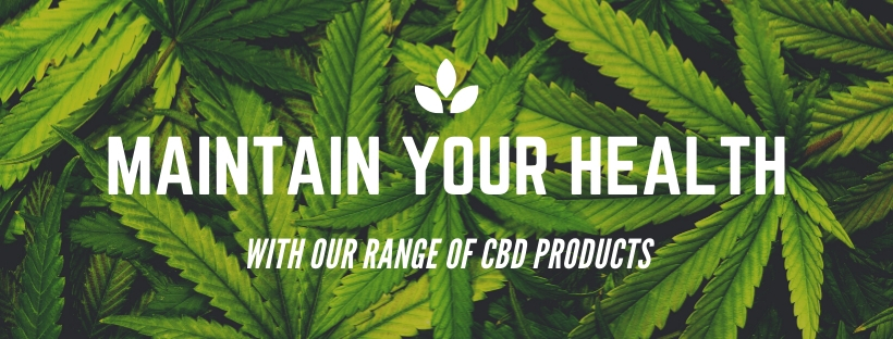 Maintain your health with CBD