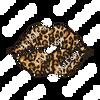 CDS Print n Cut Ready to Apply | Cheetah Kiss Lips