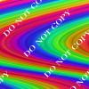 CDS Custom Printed Vinyl | Psychedelic Rainbow 4