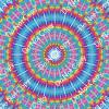 CDS Custom Printed Vinyl | Kaleidoscope Rainbows 4