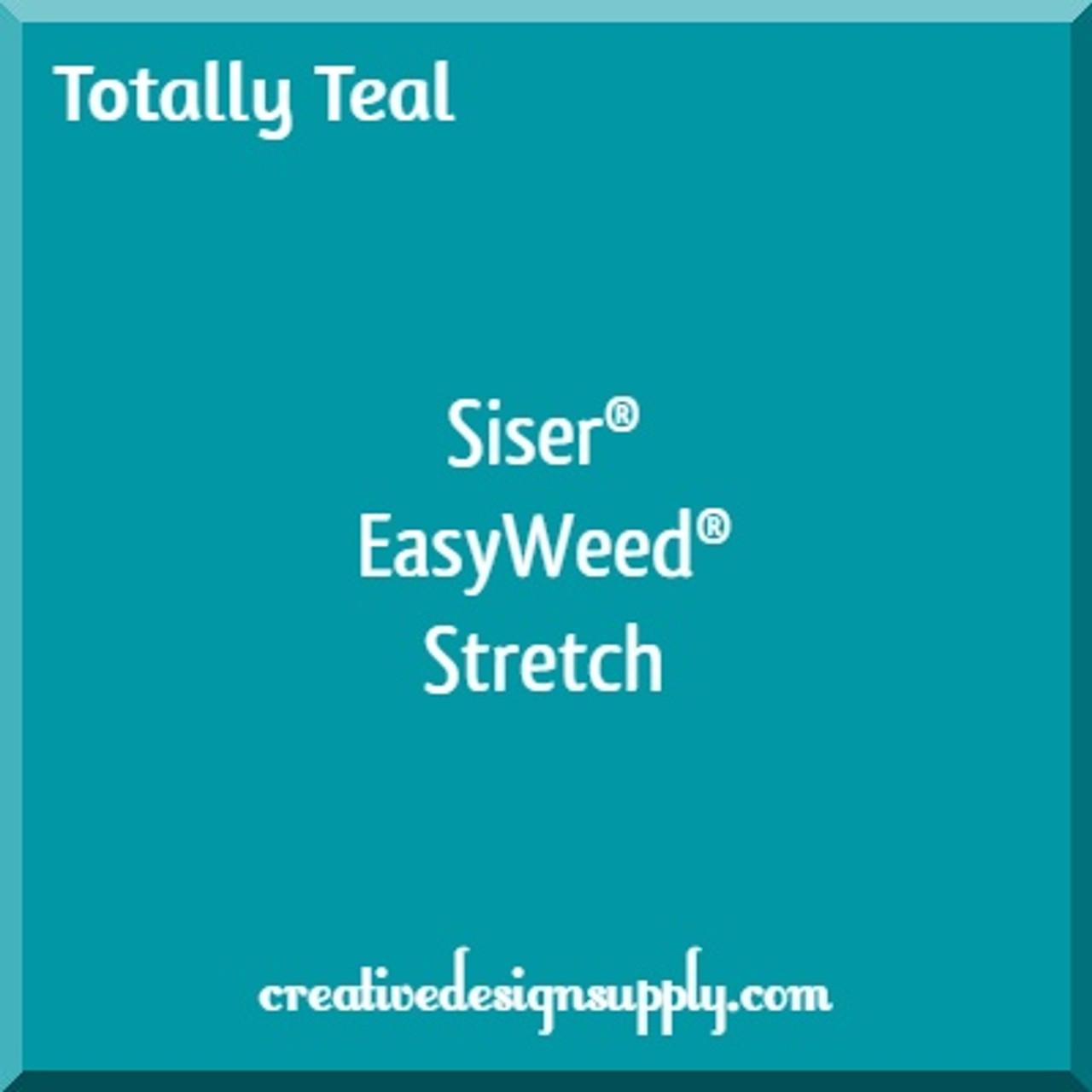 Siser® EasyWeed® Stretch Heat Transfer Vinyl | Totally Teal