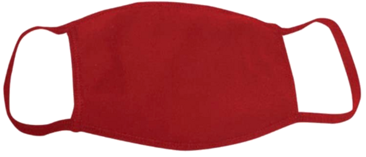 Bayside Youth Face Mask   Red