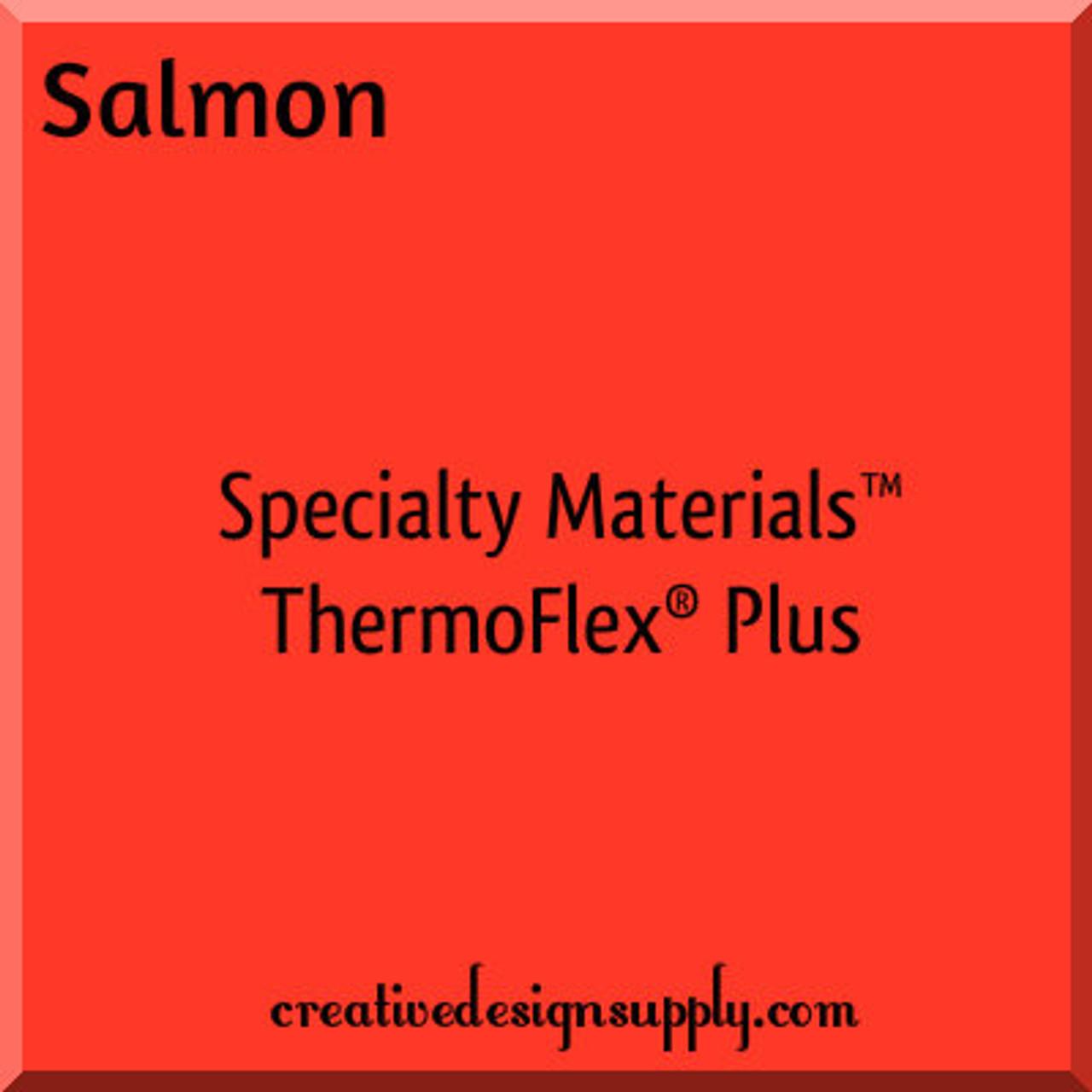 "Thermo Flex Plus HTV Vinyl RED 15/"" X 10 YARDS"