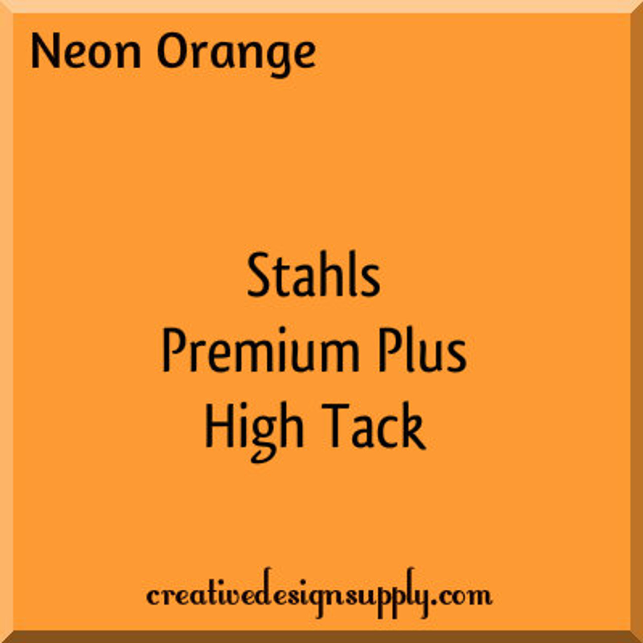 "Holo Orange Stahls/' Glitter Flake HTV 20/"" x 5 Yards Heat Transfer Vinyl"