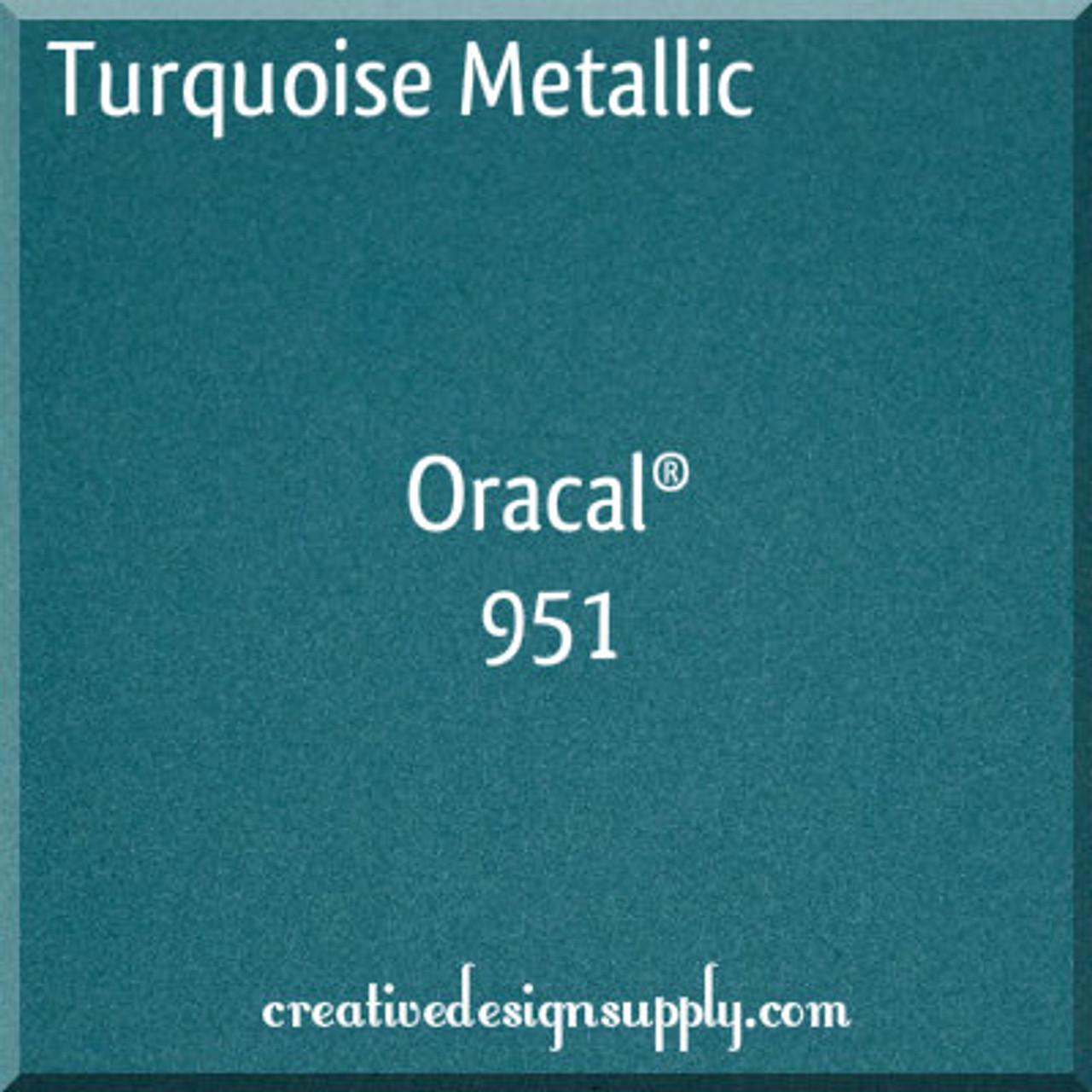 Turquoise Metallic Oracal 951 15