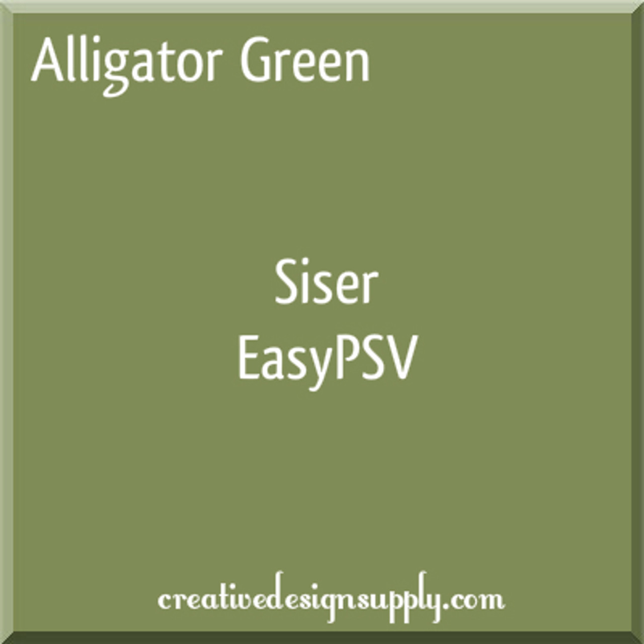 Alligator Green Siser EasyPSV