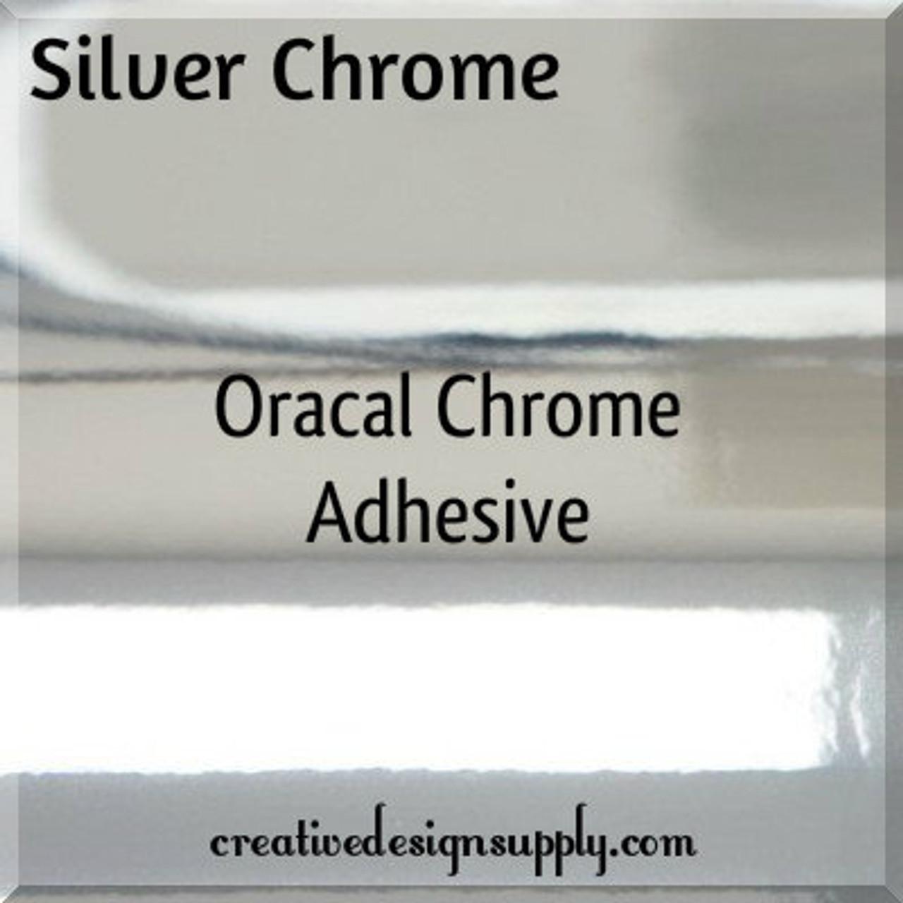 Oracal® 351 Silver Chrome