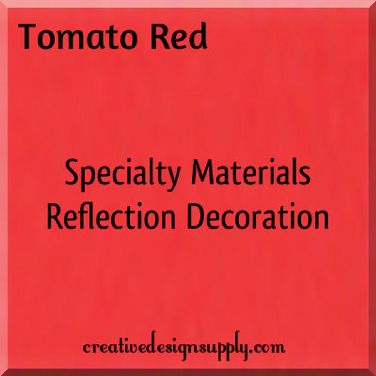 "Tomato Red Reflection Decoration 20"""