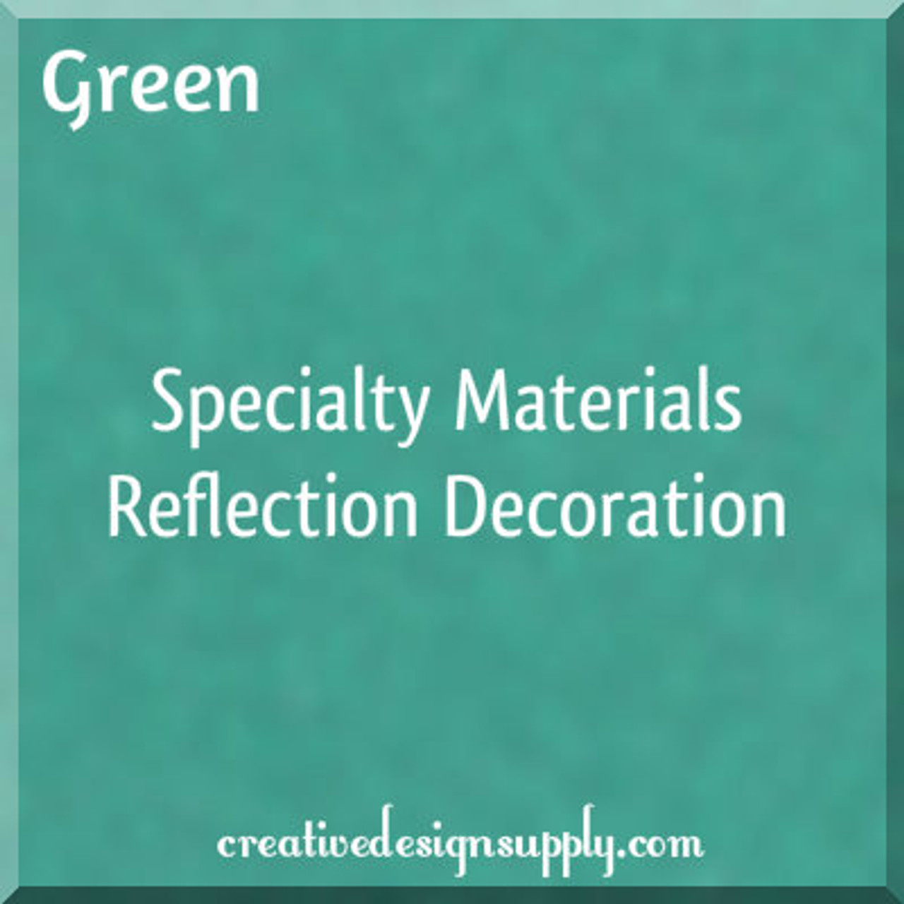 Green Reflection Decoration 20""
