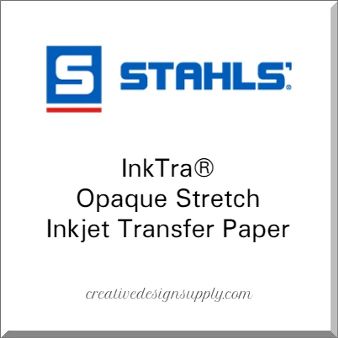 Stahls Inktra® Waterslide Clear Transfer Paper