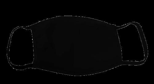 Bayside Youth Face Mask | Black