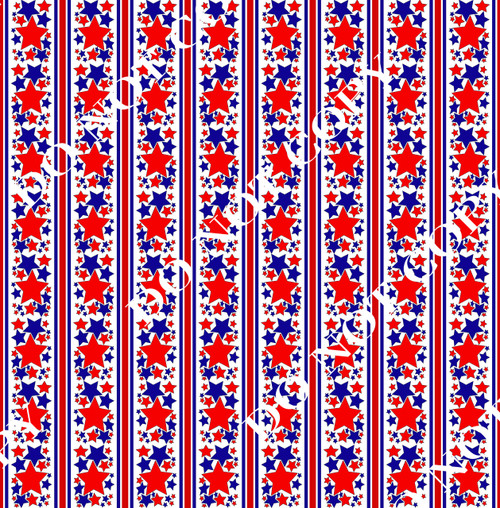 PAWFD RedWhiteBlue Patriotic 16