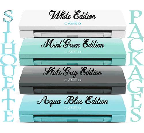 Silhouette Cameo 3 Siser/ Oracal Vinyl Starter Packages