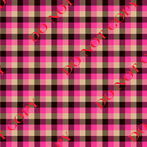 VSP Pink Buffalo Plaid 12