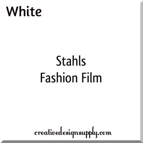 Stahls'® Cad-Cut® Fashion Film® Matte White