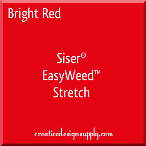Siser® EasyWeed® Stretch Heat Transfer Vinyl Bright Red